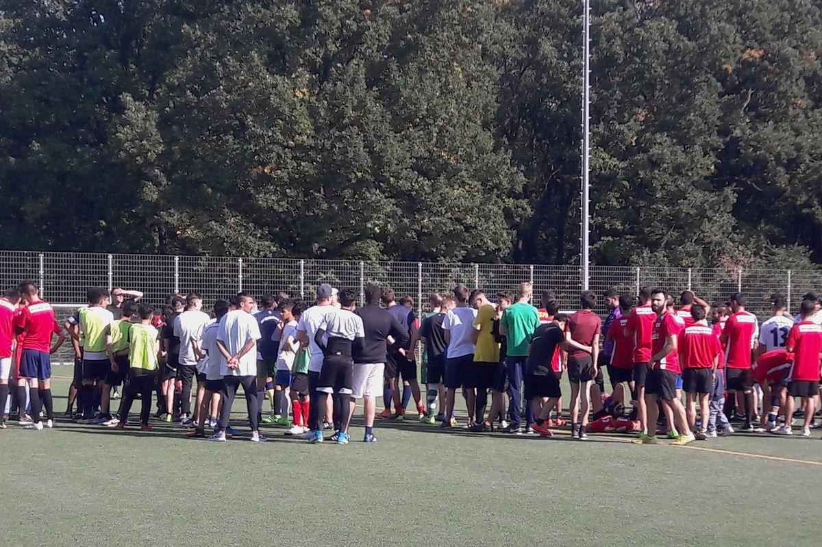 reputable site ab1a5 8d919 Während der Europäischen Woche des Sports veranstaltete der SV Askania  Coepenick e. V. am 29. September im Rahmen eines Projektes für Menschen mit  ...